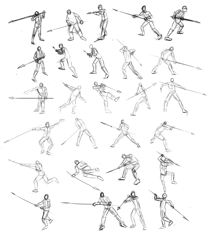 значит, позы сражения на мечах картинки мастер