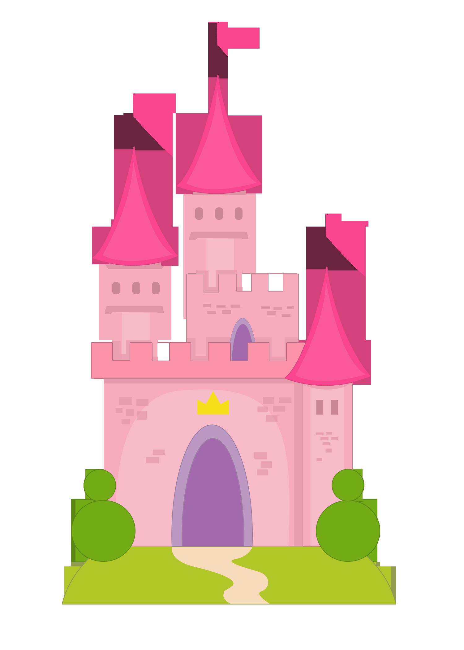 Ch B Castillos Y Dragones Castillos Dibujos Princesas Manualidades