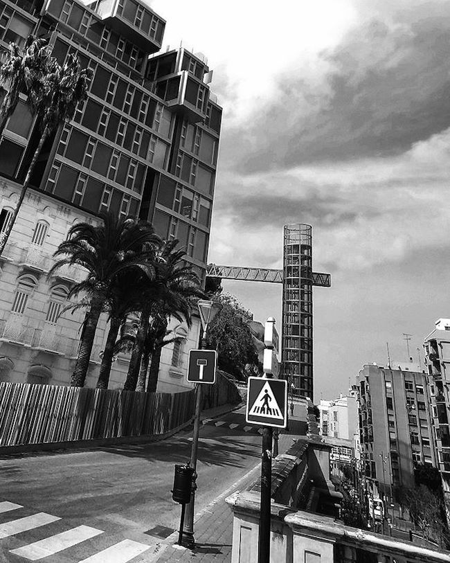 Architecture Architecturelovers Design Buildings Cartagena Spaintoday Streetphoto Blackandwhite Blackandwhitephotography Bnw_maniac Bnwlife Bnwlovers Bnw Monochrome Mono