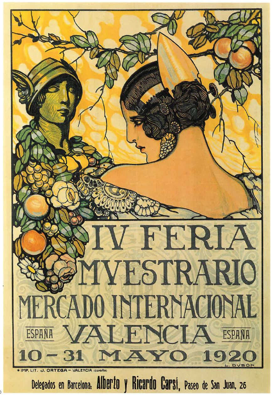 Fb Luis Dubon 1920 Vintage Posters Poster Art Old Signs