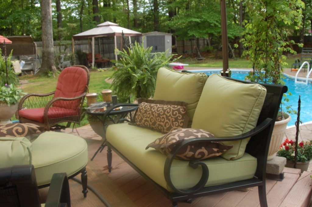 Replacement Patio Chair Cushions Ideas With Images Outdoor