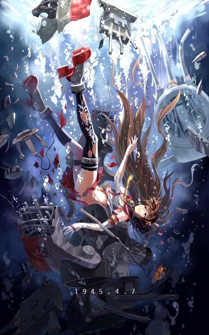 Yamato Kancolle Kantai Collection Wallpaper Anime Anime Artwork Kantai Collection