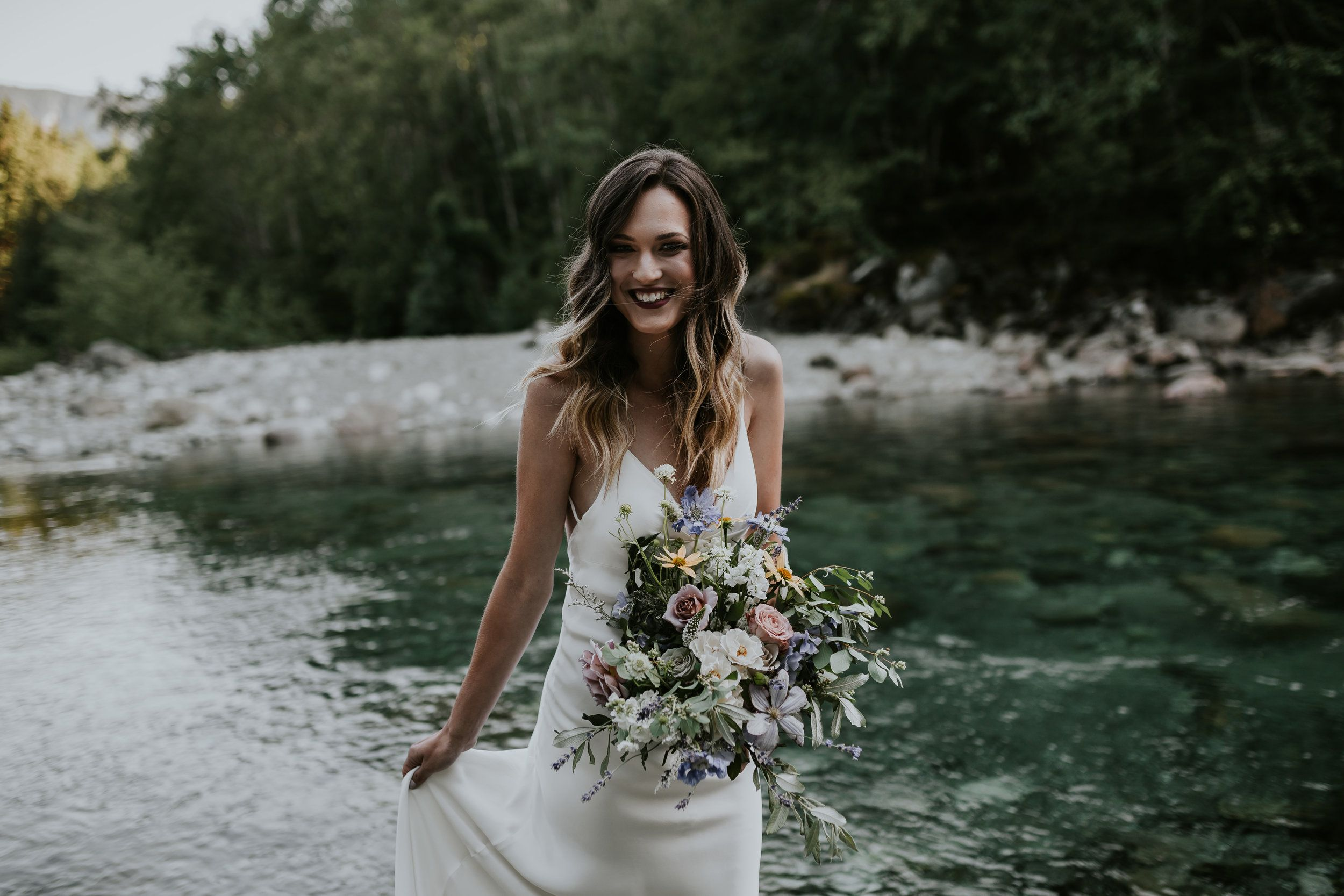 Pacific Northwest Bridal Styled Shoot by Cait Kennedy Photography ...