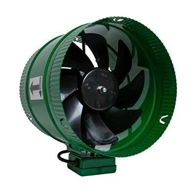 Hydrofarm Acfb10 Active Air 10 Hydroponics Inline Duct Booster Fan 661 Cfm Fan Hydrofarm