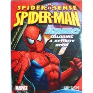 Spider Man Jumbo Coloring Activity Book By Spider Man 1 99 96 Pages Of Activities Games And Pages To With Images Book Cover Art Color Activities Childrens Drawings