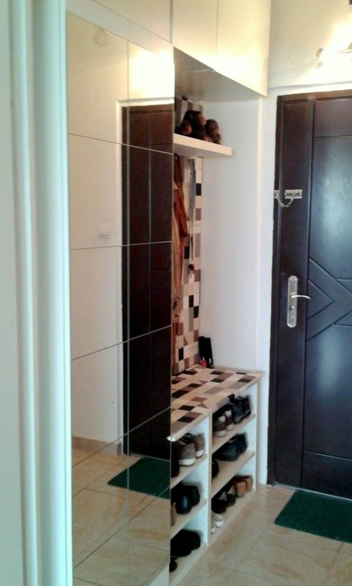 Hallway Storage From Ikea Metod Kitchen Cabinets Mit Bildern