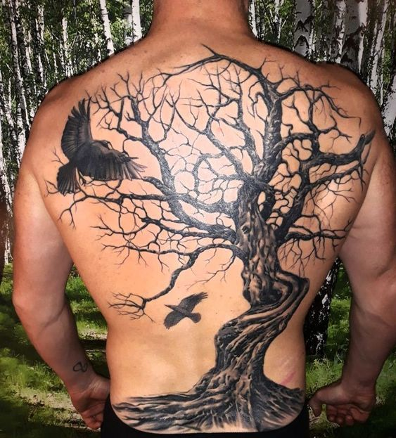 45 Awesome Back Tattoos For Men