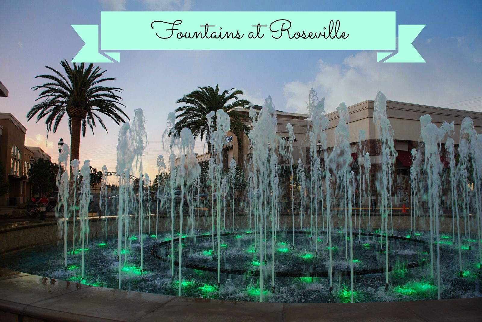Bring The Kids To Some Fountain Fun Fountains Roseville California Roseville
