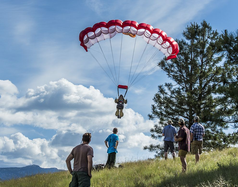 Smokejumpers in Action Photography | Montana, Action and Wildland fire