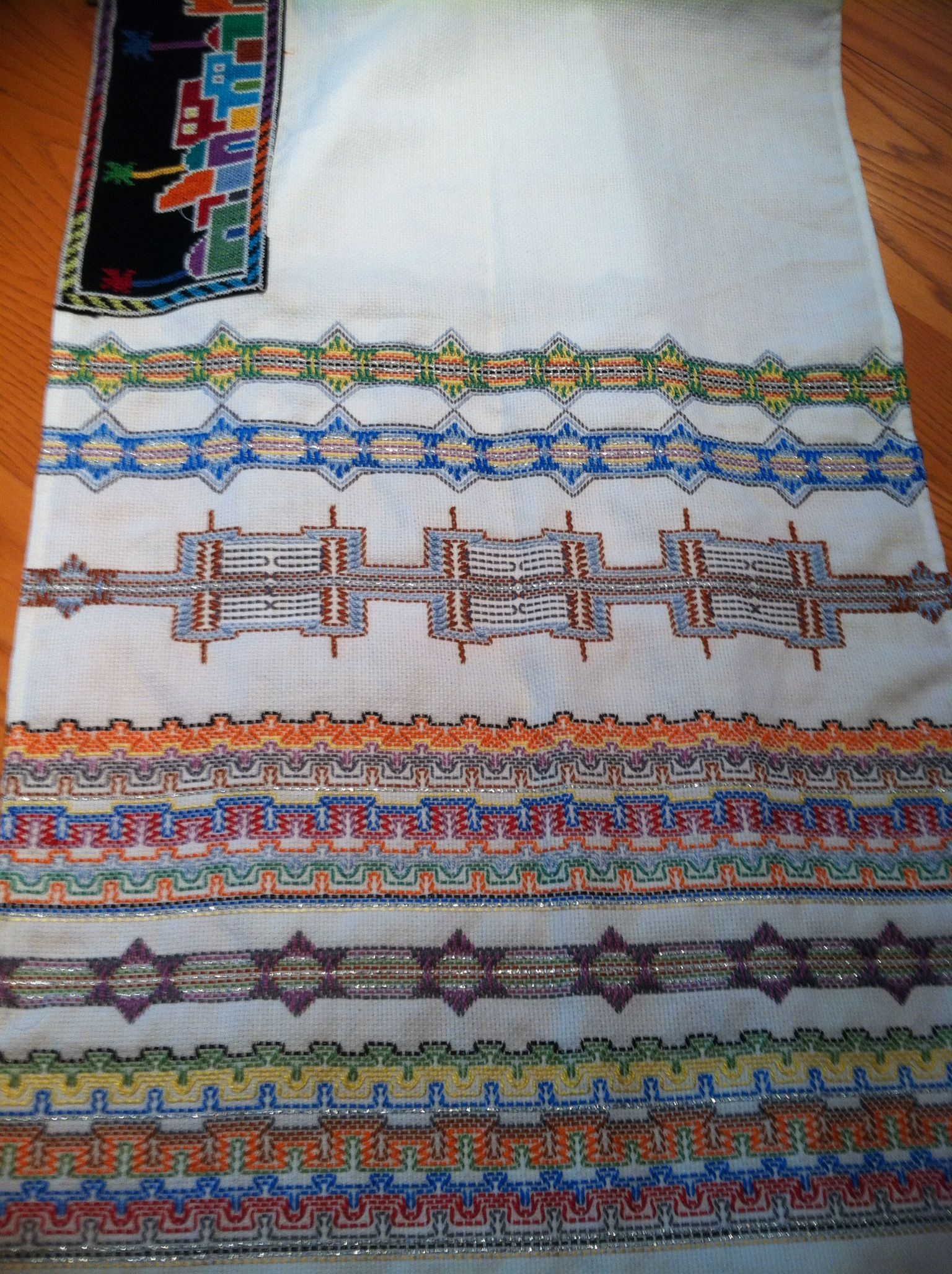 """""""Hither and Tither"""" - The How to Book of Swedish Weaving and Huck Embroidery  