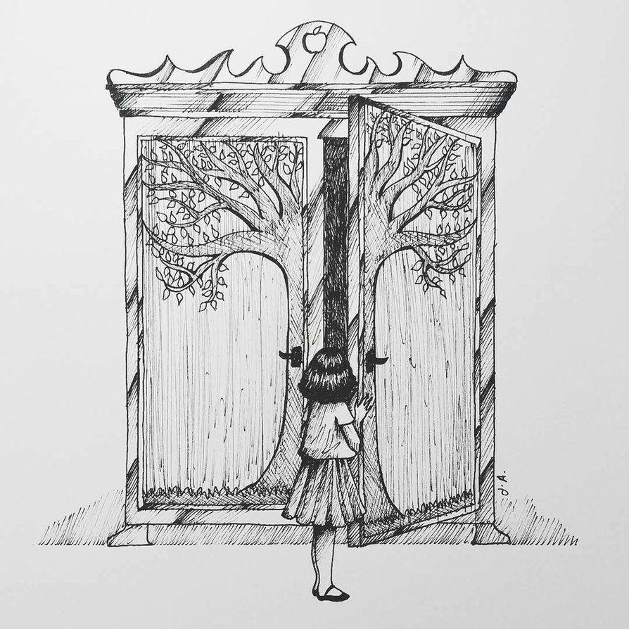 Resultado de imagen para going into the wardrobe narnia | Chronicles ...