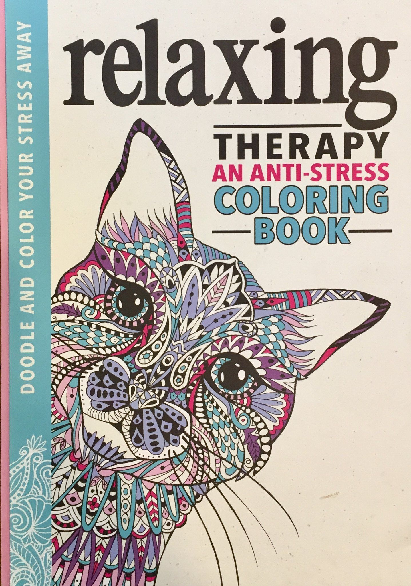 - Relaxing Therapy: An Anti-Stress Coloring Book Coloring Books