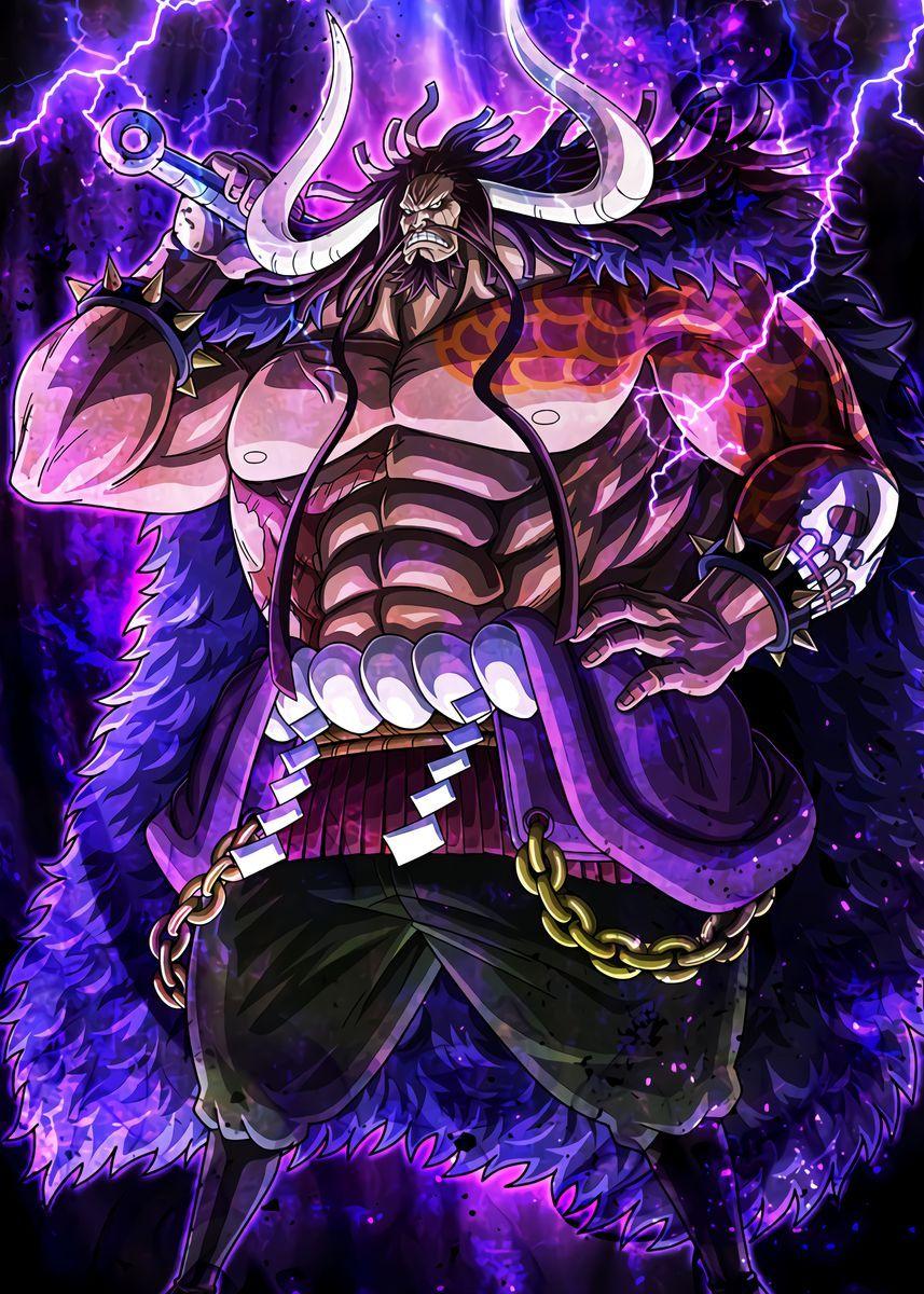 'Kaido  One Piece ' Metal Poster - OnePieceTreasure  | Displate