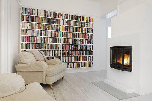 Somebodys Stockholm Apartment Bookshelves