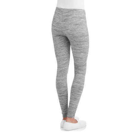 a0214e194d8f8 Faded Glory Women's Essential Legging, 2-Pack, Size: Small, Black ...