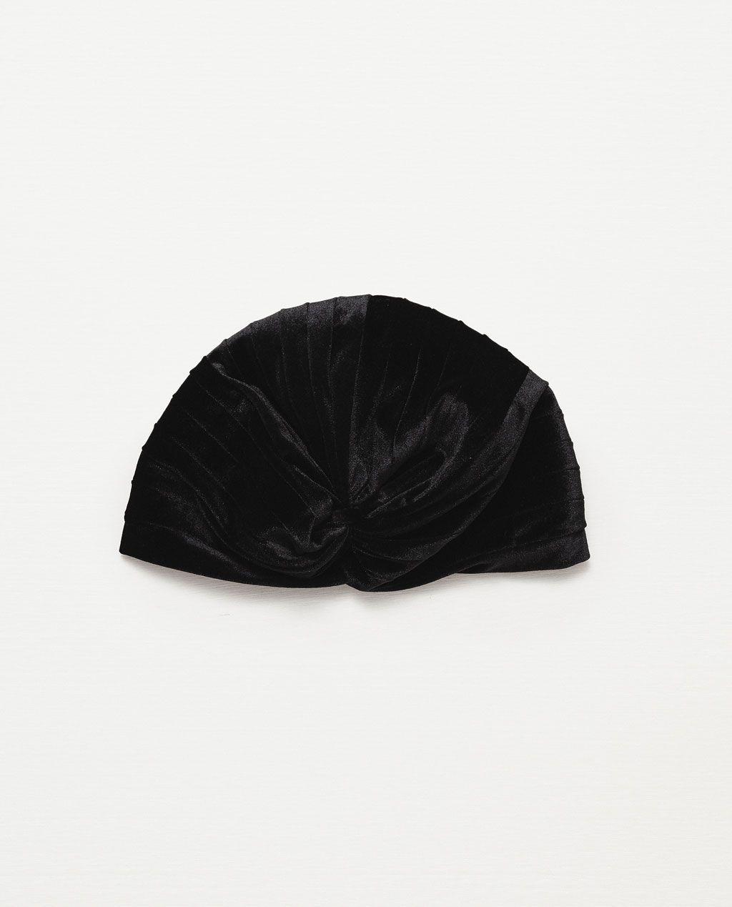 ZARA - NEW IN - VELVET HAT
