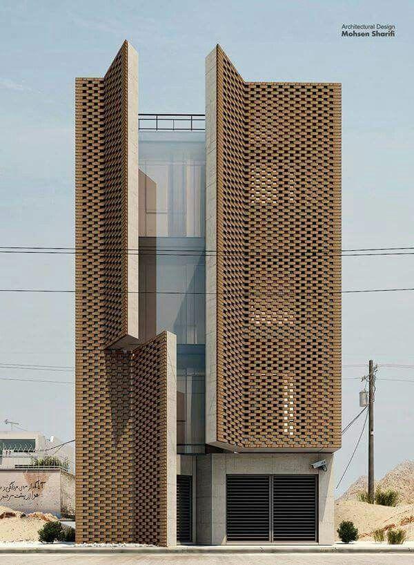 Contemporary Building With Floor To Ceiling Window Facade Design