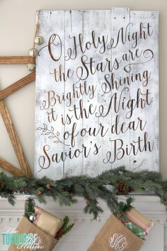 bild zu weihnachten weihnachtsdeko zum selbermachen diy bastelideen zu weihnachten mit einer. Black Bedroom Furniture Sets. Home Design Ideas