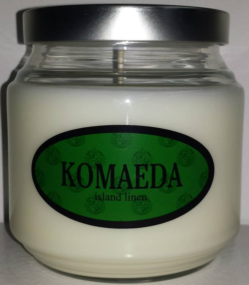 Nagito Komaeda inspired candle from the game Super Danganronpa 2.