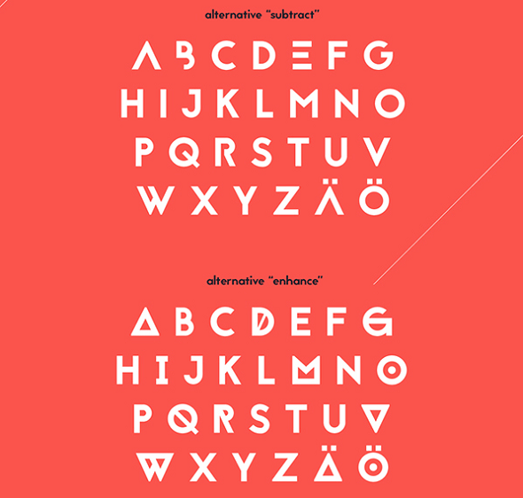 25 Best Free Geometric Fonts