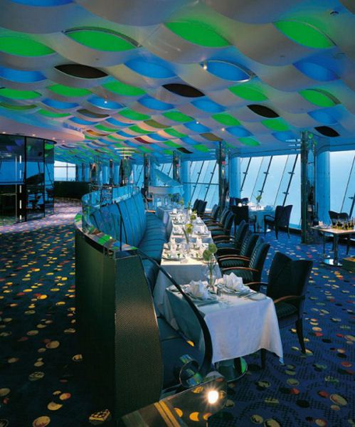 Sailboat hotel inside burj al arab 7 star hotel in dubai for Star hotels in dubai