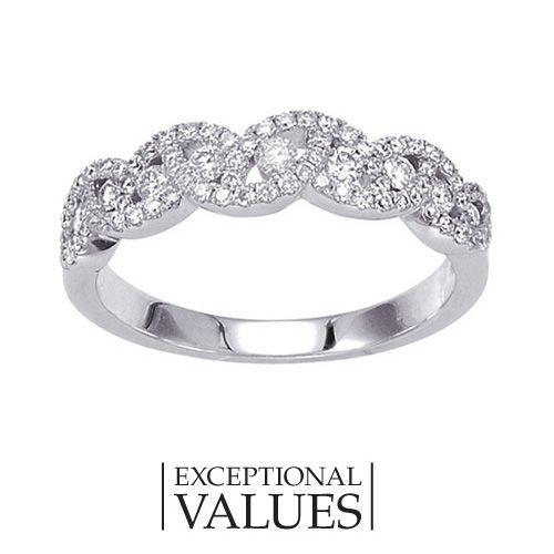 Fred Meyer Jewelers 12 ct tw Diamond Anniversary Ring