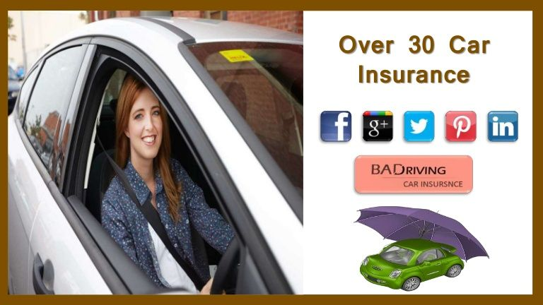 Cheap Car Insurance New Drivers Over 30