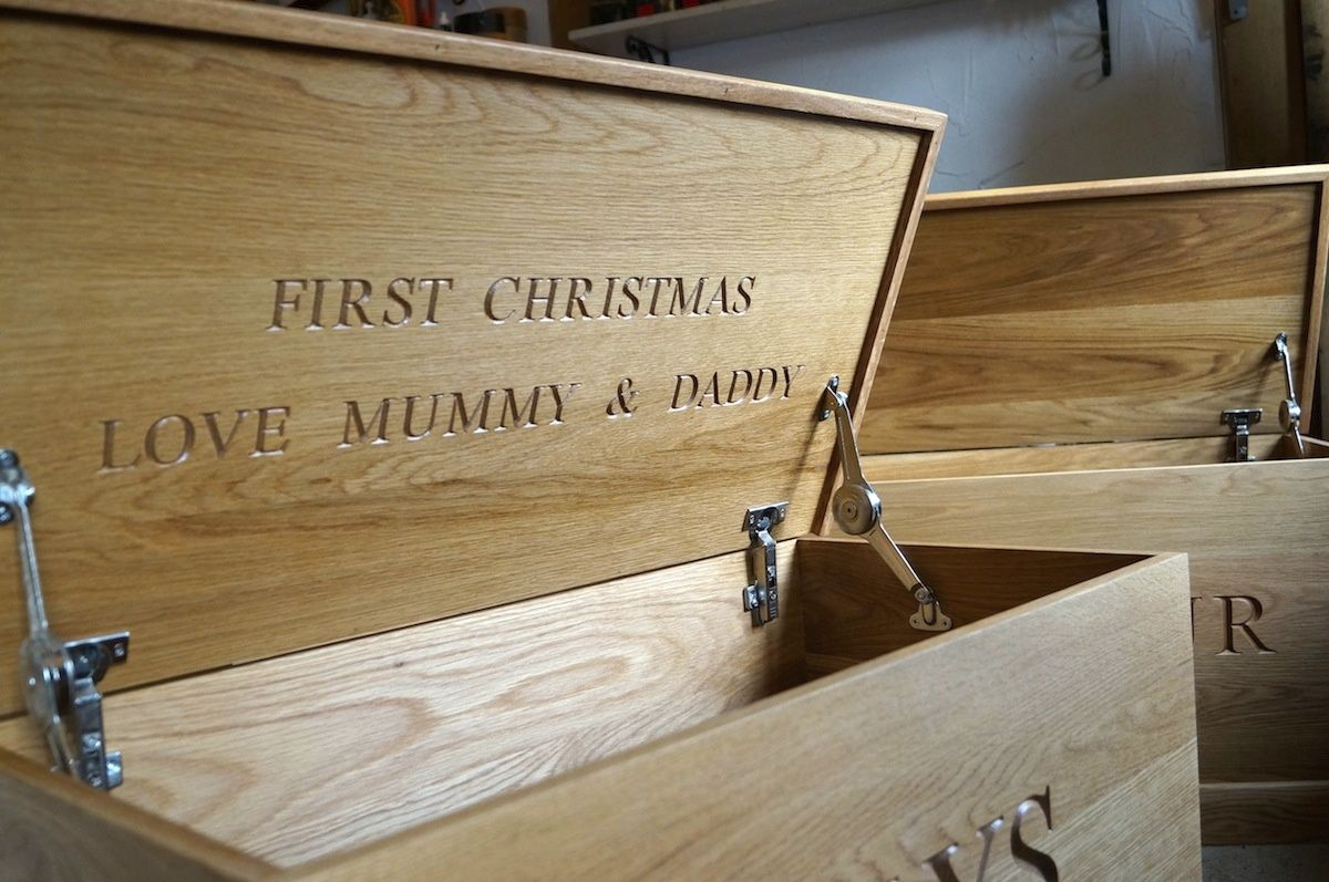 Personalised Toy Boxes Uk Wooden Toy Boxes Handmade Wooden Toys Oak Toy Box