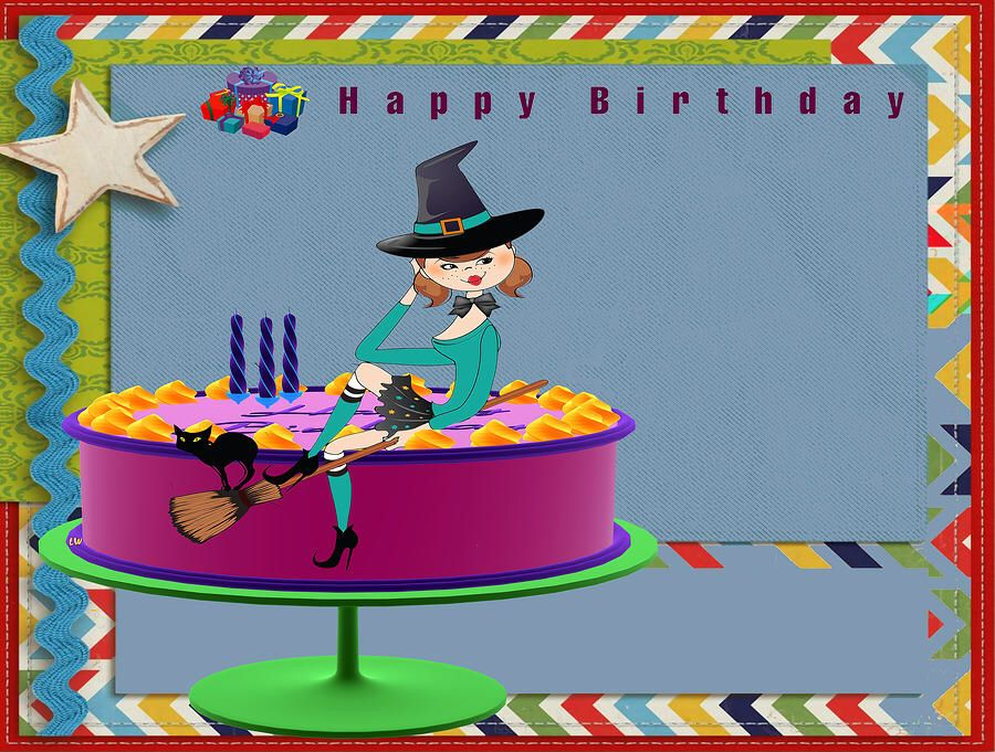 Happy Birthday Witch Happy Birthday Cute & Funny Quotes