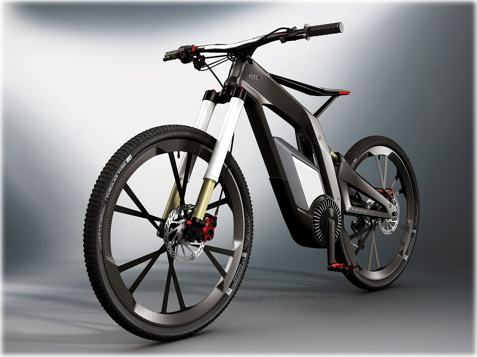 Audi e bike concept 2012 electrical bicycle by audi design