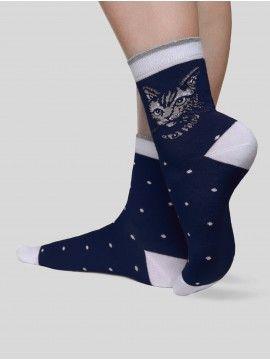 Купить Женские носки CLASSIC  (стразы, люрекс) в интернет магазине Conte