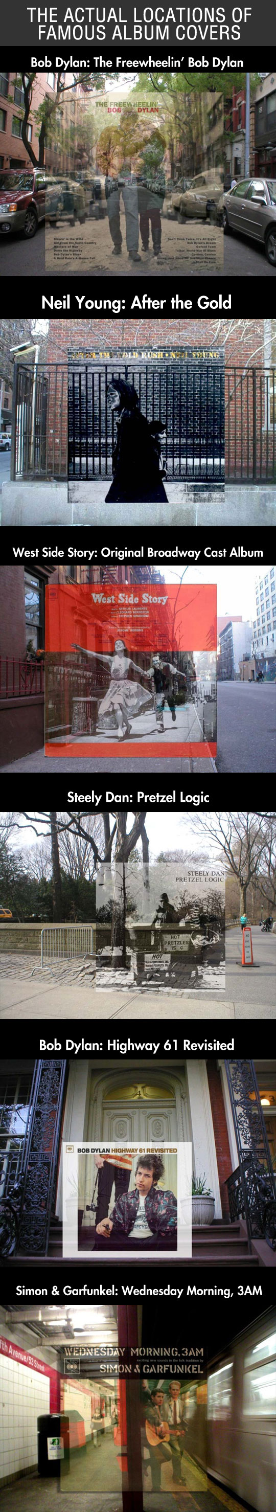The Actual Locations Of Famous Album Covers