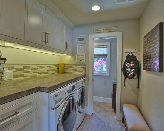 Laundry Room Mud Room Area Off Garage And Kitchen Home Remodel Kitchen Bathroom Interiors W