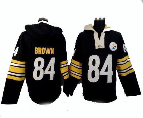 57c801eecf9 Pittsburg Steelers Antonio Brown  84 Pullover hoodie