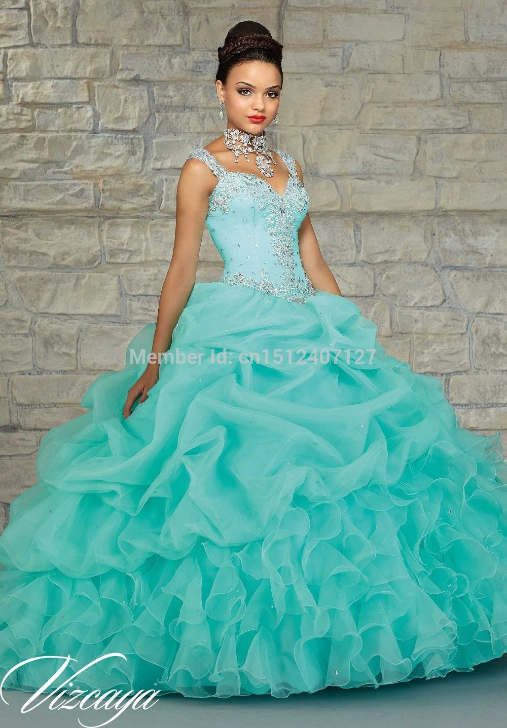 quinceanera dresses turquoise - Google Search | Quinceañera ...