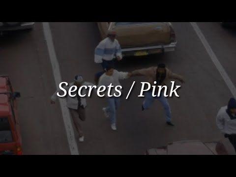 Pink - Secrets (Lyrics) - YouTube