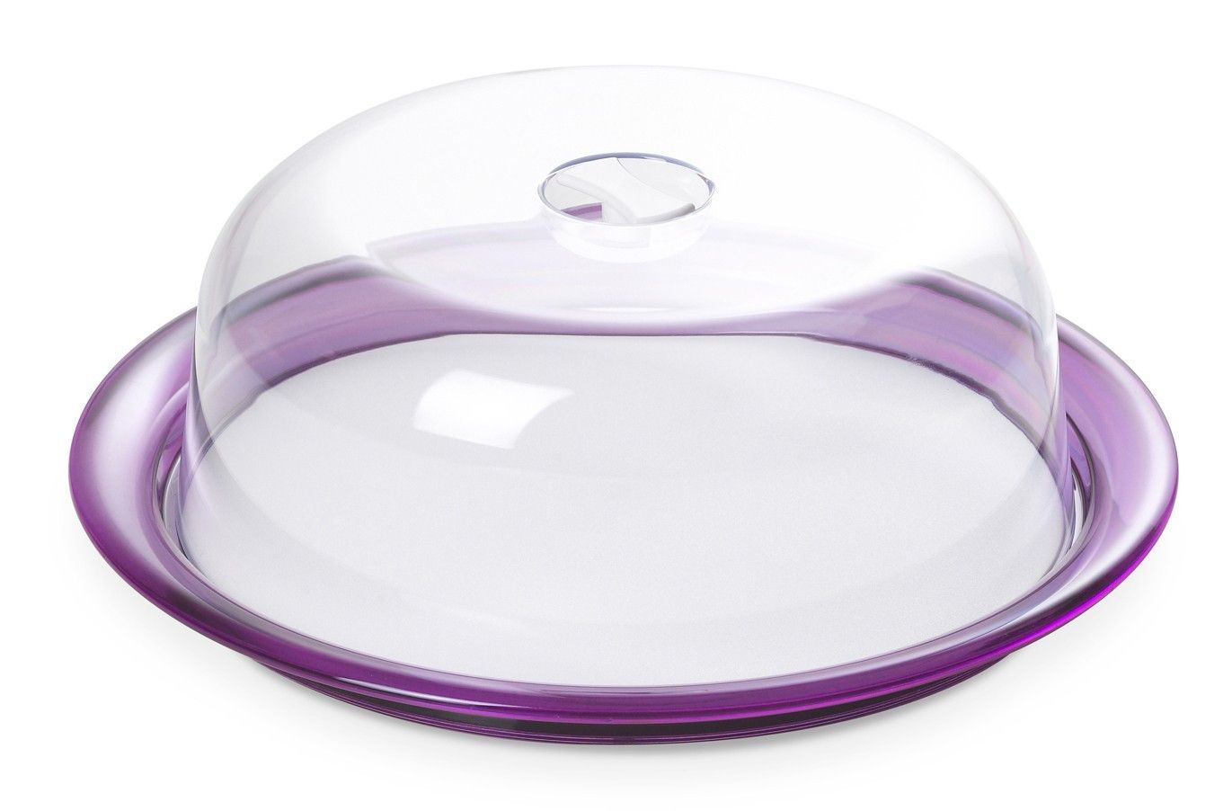 Omada Globo Acrylic Cake Serving Tray with Dome