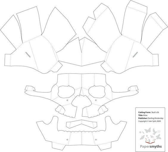 Image Result For Free Template Wintercroft Mask