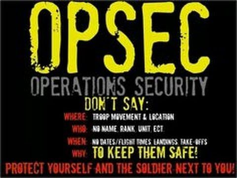 OPSEC Operational Security How To Protect Yourself And Others