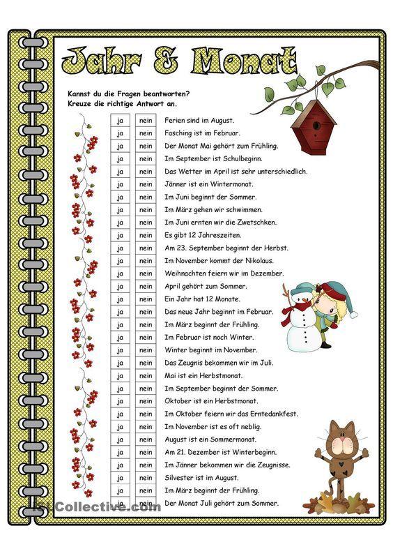 Jahreszeiten _ Lesetraining   Jahreszeiten   Pinterest ...