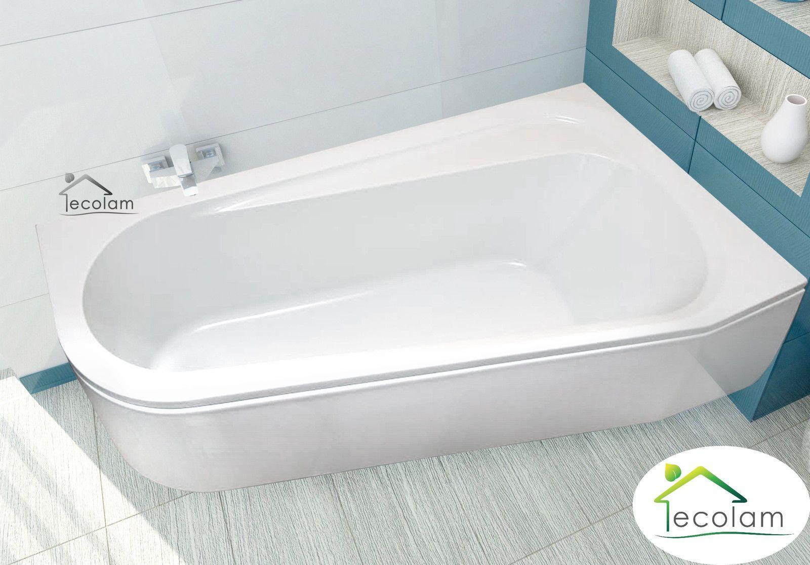 Badewanne Eckwanne Dida 165x95 Cm Rechts Badewanne Badewanne Ideen Duschwanne