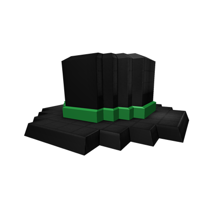e522f48e756 8-Bit Green Banded Top Hat - Roblox