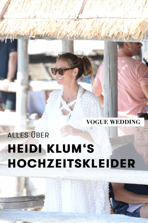 Heidi Klums Hochzeit Von Diesen Labels Stammten Ihre Brautkleider Brautkleid Brautkleid Designer Hochzeit