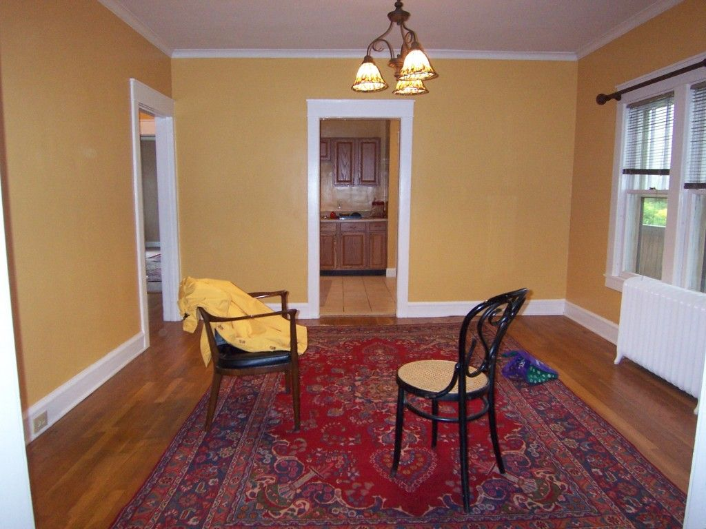 Dining Room Decorating Color Ideas. Gold dining room  Our first home Pinterest Red rugs Color