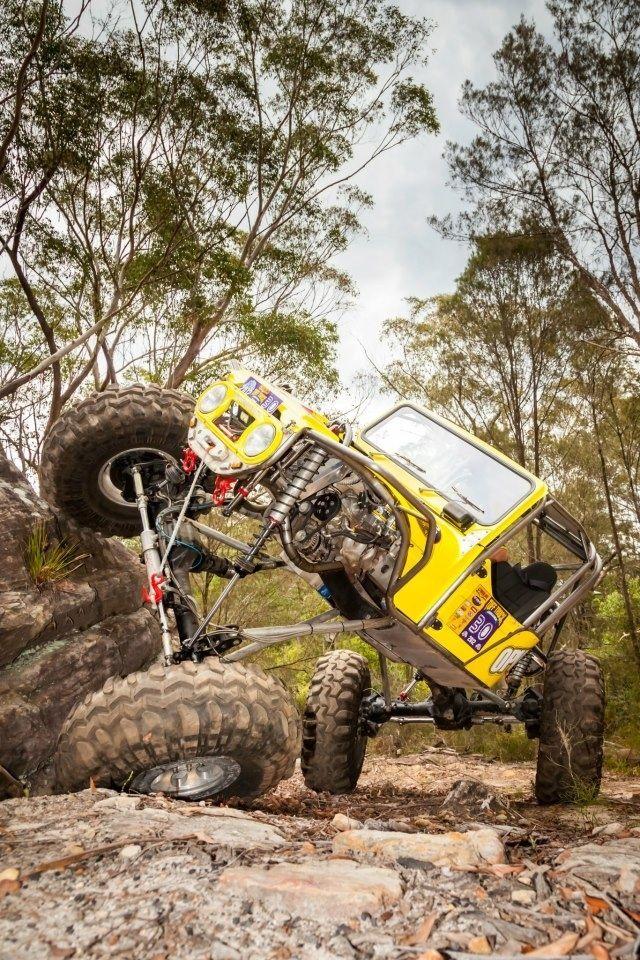Toyota Fj Rock Crawler Xtreme Flex En Jacksonville Florida Usa