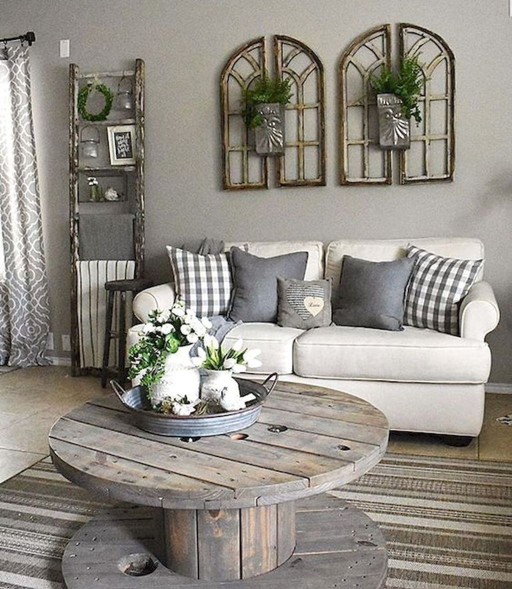 33 Fantastic Farmhouse Living Room Design And Decoration Ideas To Try Asap Farm House Living Room Farmhouse Decor Living Room Living Room Decor Rustic Living room decoration ideas