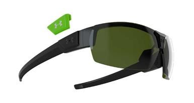 60f30dd2d5c Under Armour Drive Sunglasses - Satin Black Sunglasses with Game Day  Multi-Flection Lens