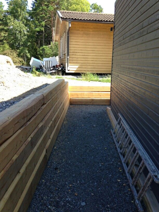 Trämur | mur | Home Decor, Garage doors och Decor