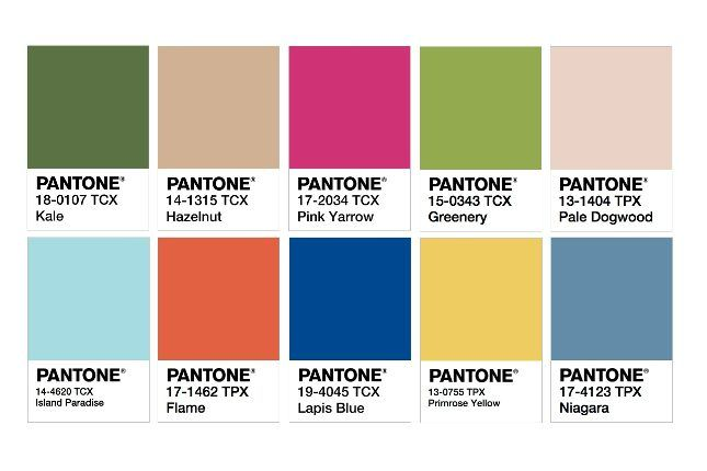 pantone s 2017 color trend predictions declare it the year of kale pantone color wedding and. Black Bedroom Furniture Sets. Home Design Ideas