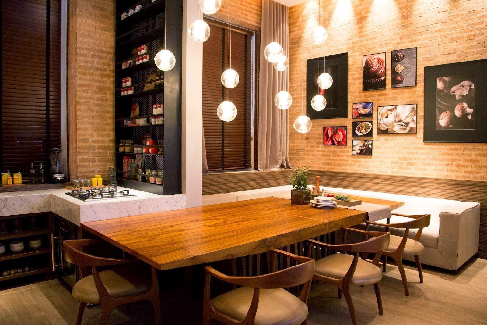 Mesas Com Sof S E Bancos Otimize Espa O E Modernize Sua Cozinha E